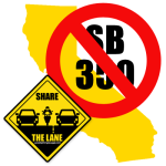 CA Lane Splitting Bill, SB350, will not be pursued in 2014